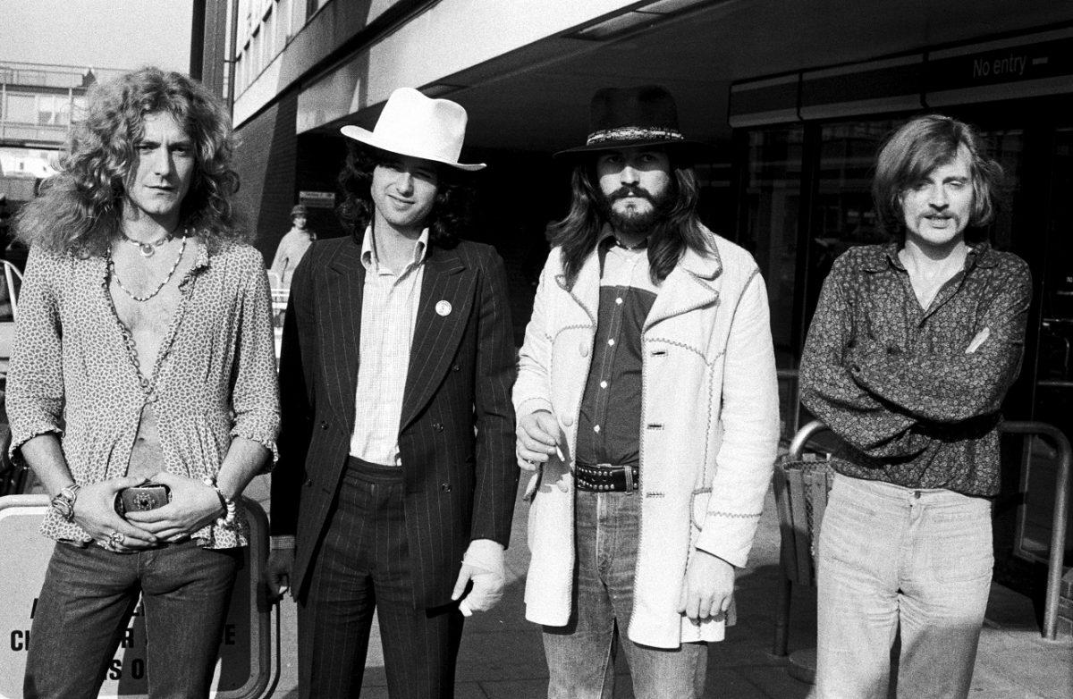 Led Zeppelin en 1973