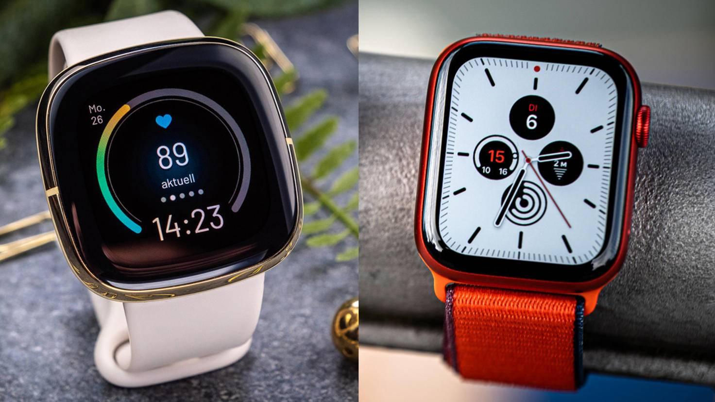 fitbit-sense-vs-apple-watch-comparaison-1
