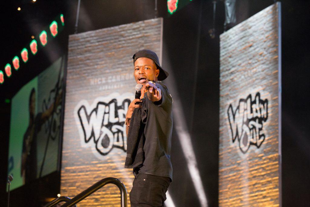 DC Young Fly sur scène