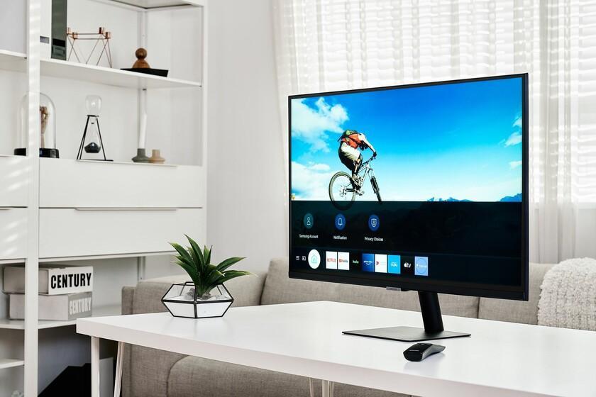 Samsung Smart Monitor M5 et M7: deux nouveaux écrans avec Tizen qui sont un hybride entre moniteur et télévision