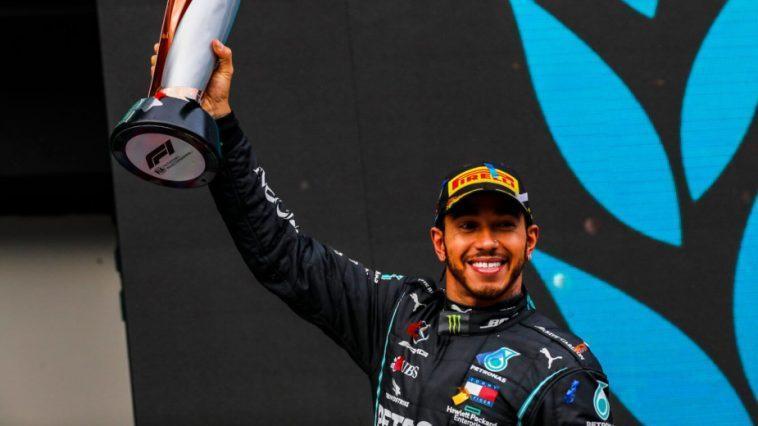 Et Il Y En A Sept. Lewis Hamilton (à Nouveau)
