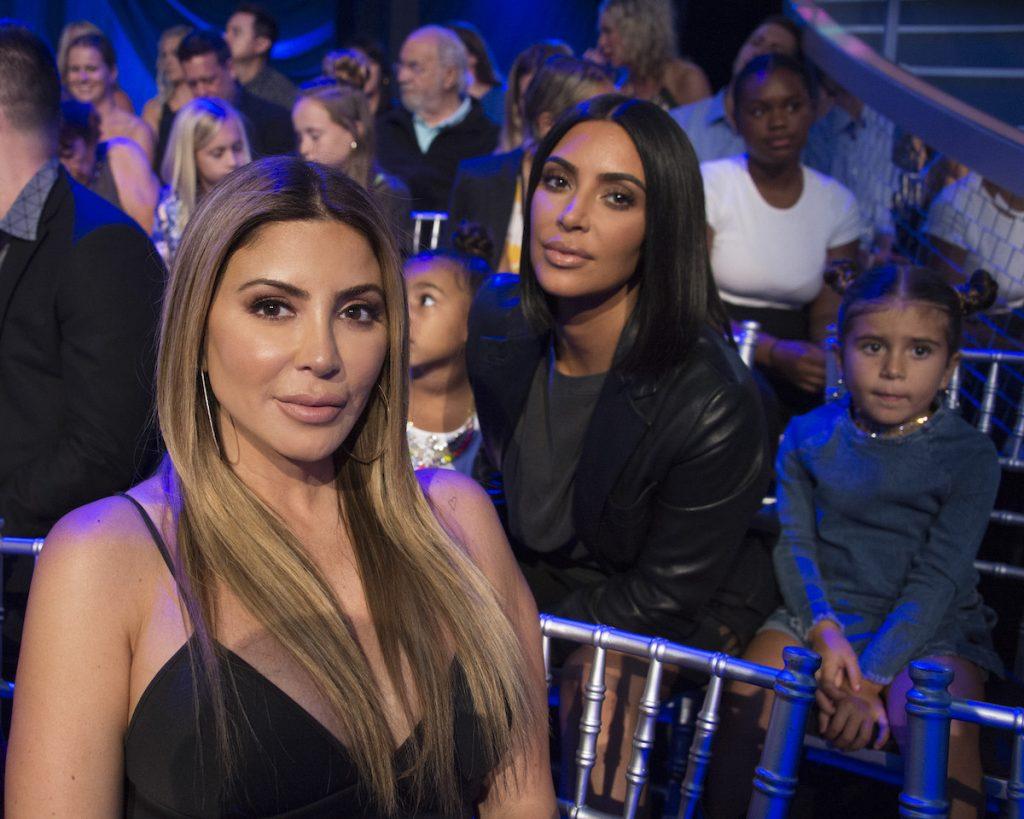 Larsa Pippen et Kim Kardashian West avec North West et Penelope Disick