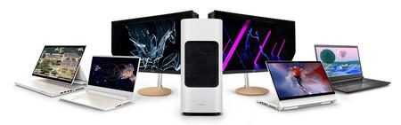 Bannière statique de la page d'accueil Acer