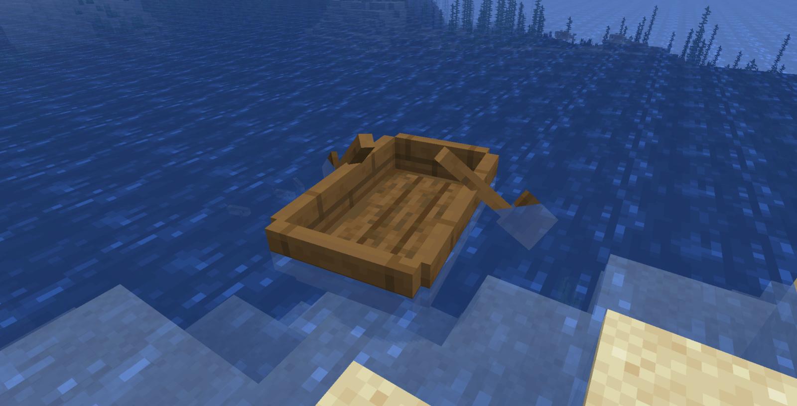 Comment Fabriquer Un Bateau Dans Minecraft