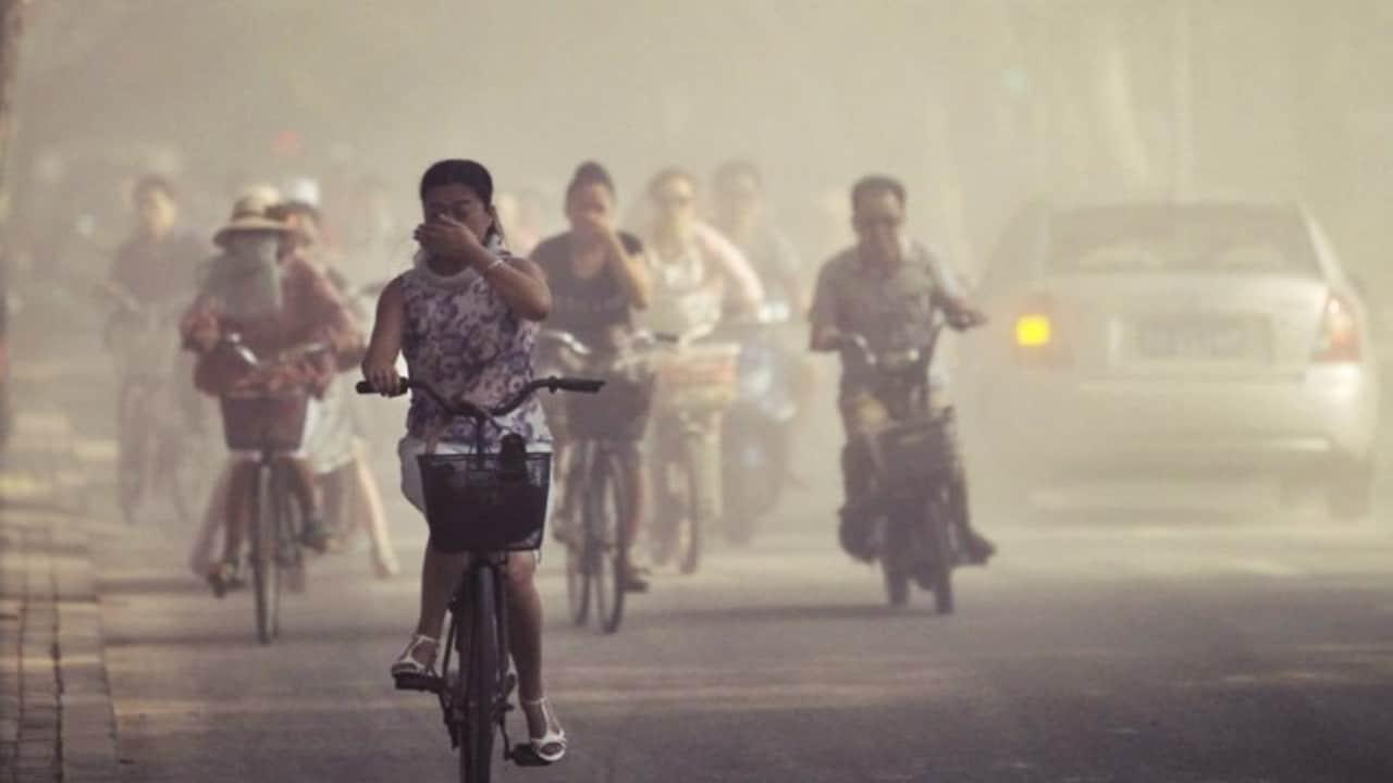 Des Couvertures De Smog Toxiques à Delhi Après Que Les
