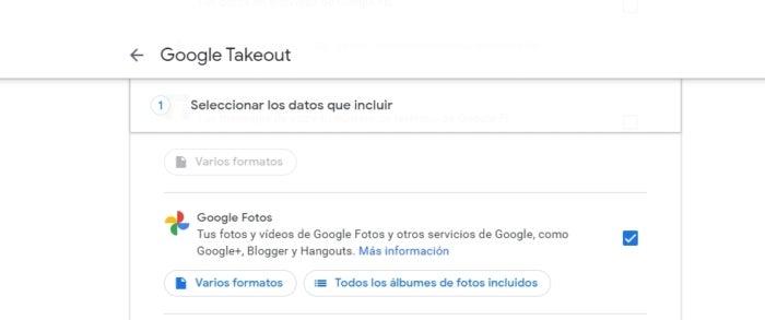 Télécharger du contenu depuis Google Photos