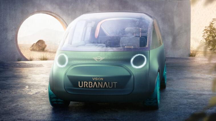 Mini Vision Urbanaut. Mini à L'extérieur, Maxi à L'intérieur