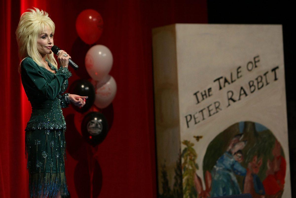 Bibliothèque d'imagination Dolly Parton