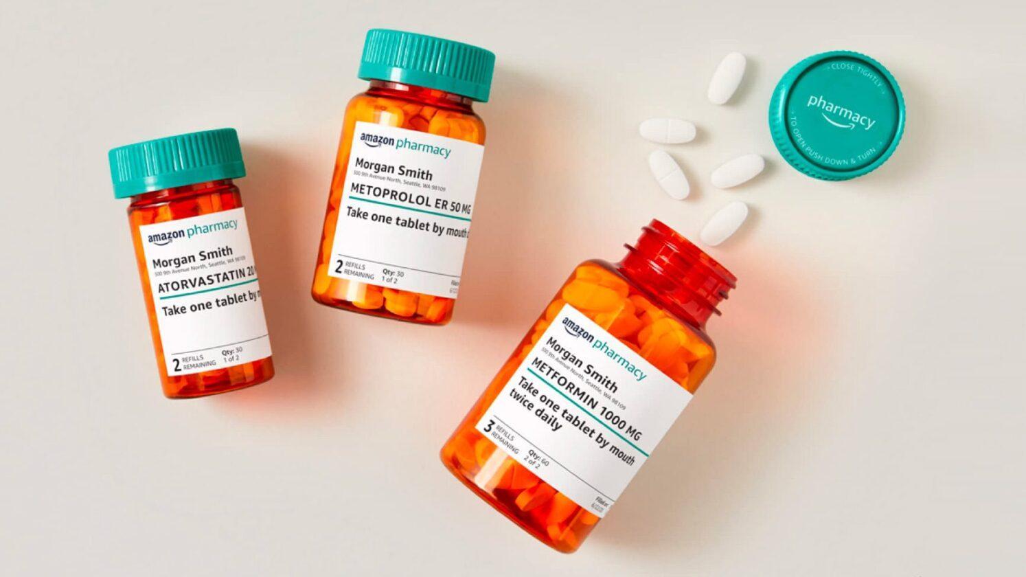 Amazon Défie Les Pharmacies: La Livraison à Domicile De Médicaments