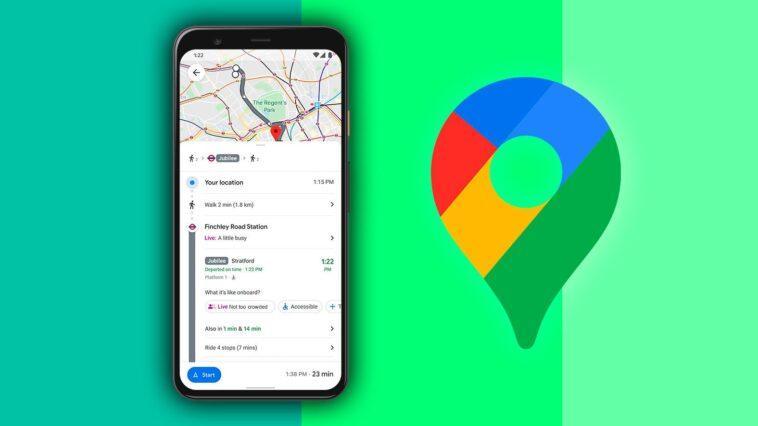 Google Maps Vous Indique à Quel Point Les Véhicules Sont