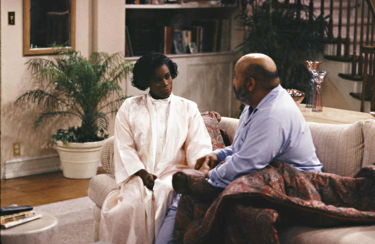 Janet Hubert et James Avery