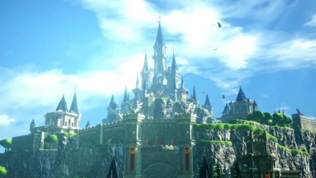 Hyrule Warriors Time of Desolation - Image du château d'Hyrule