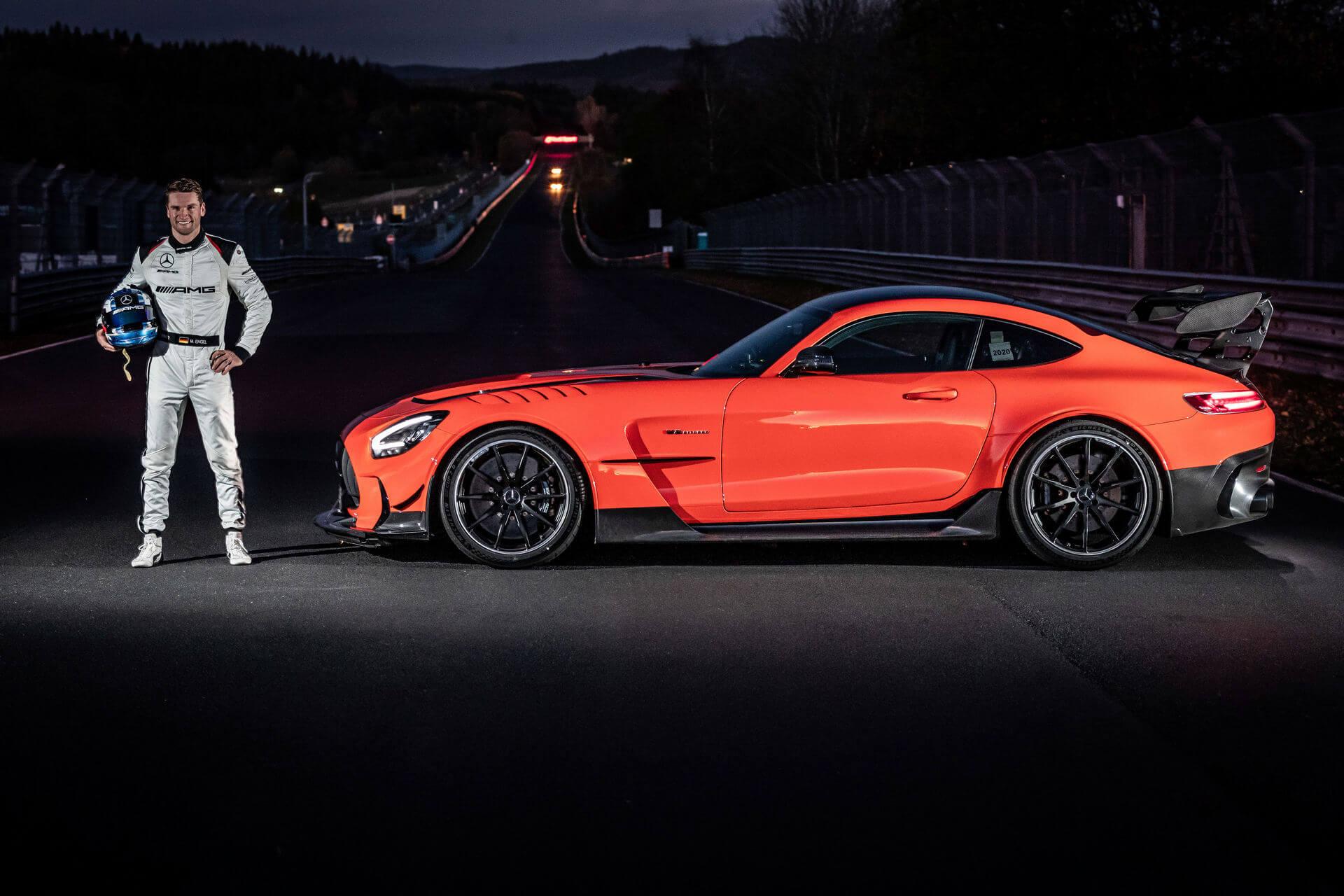 Mercedes-AMG GT Black Series et Maro Engels