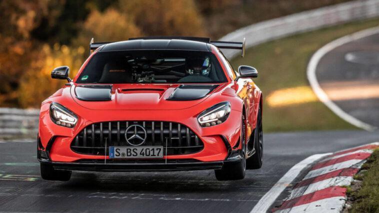 """Même """"vole""""! La Mercedes Amg Gt Black Series Est La Plus"""