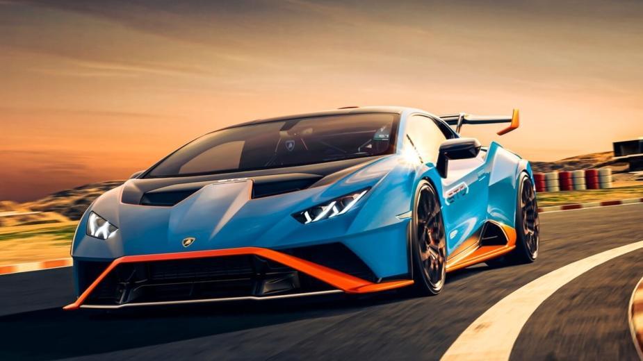 Lamborghini Huracán Sto. Directement Des Circuits à La Route