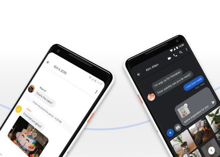 Application de messagerie Google