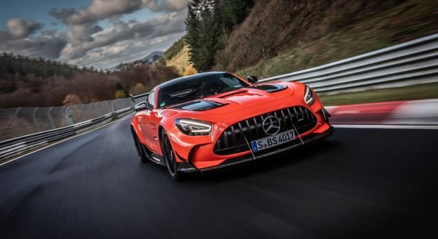 La Mercedes Amg Gt Black Series A Même Battu Le Record