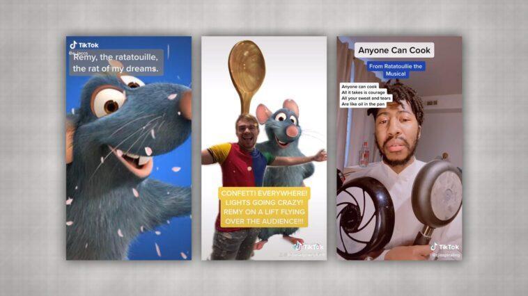 Une Comédie Musicale Sur Ratatouille Réalisée Par Des Utilisateurs Voit