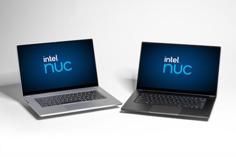 Le premier ordinateur portable d'Intel du programme NUC est un 15,6 pouces avec jusqu'à 16 Go de RAM à vendre par de petits fabricants