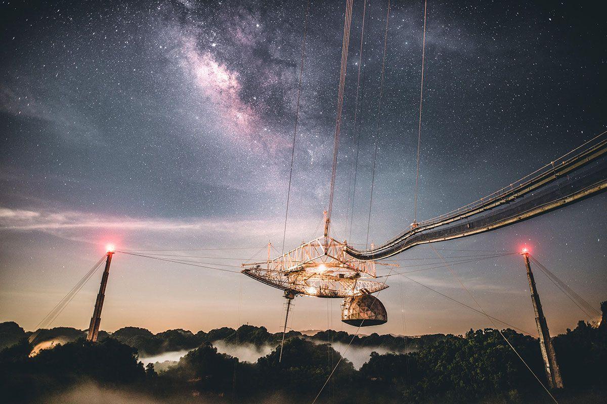 Le Radiotélescope Arecibo, Icône De L'astronomie, Est Perdu