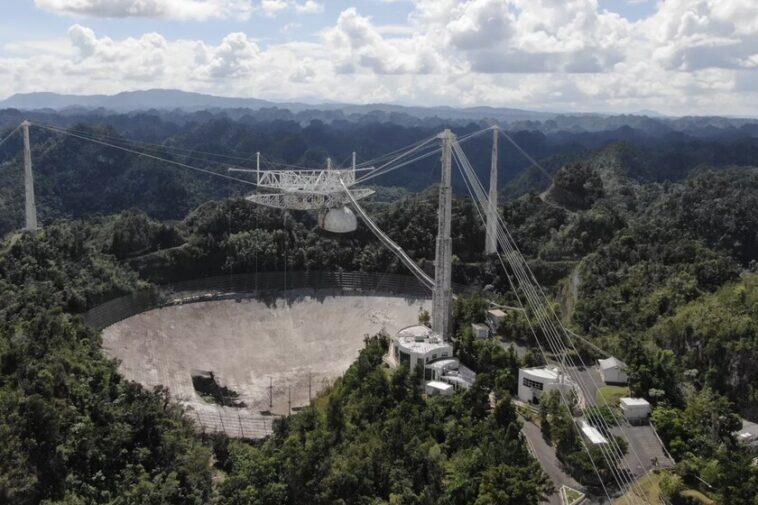 C'est officiel, l'observatoire d'Arecibo sera démoli: après la rupture du deuxième câble, la structure prend fin