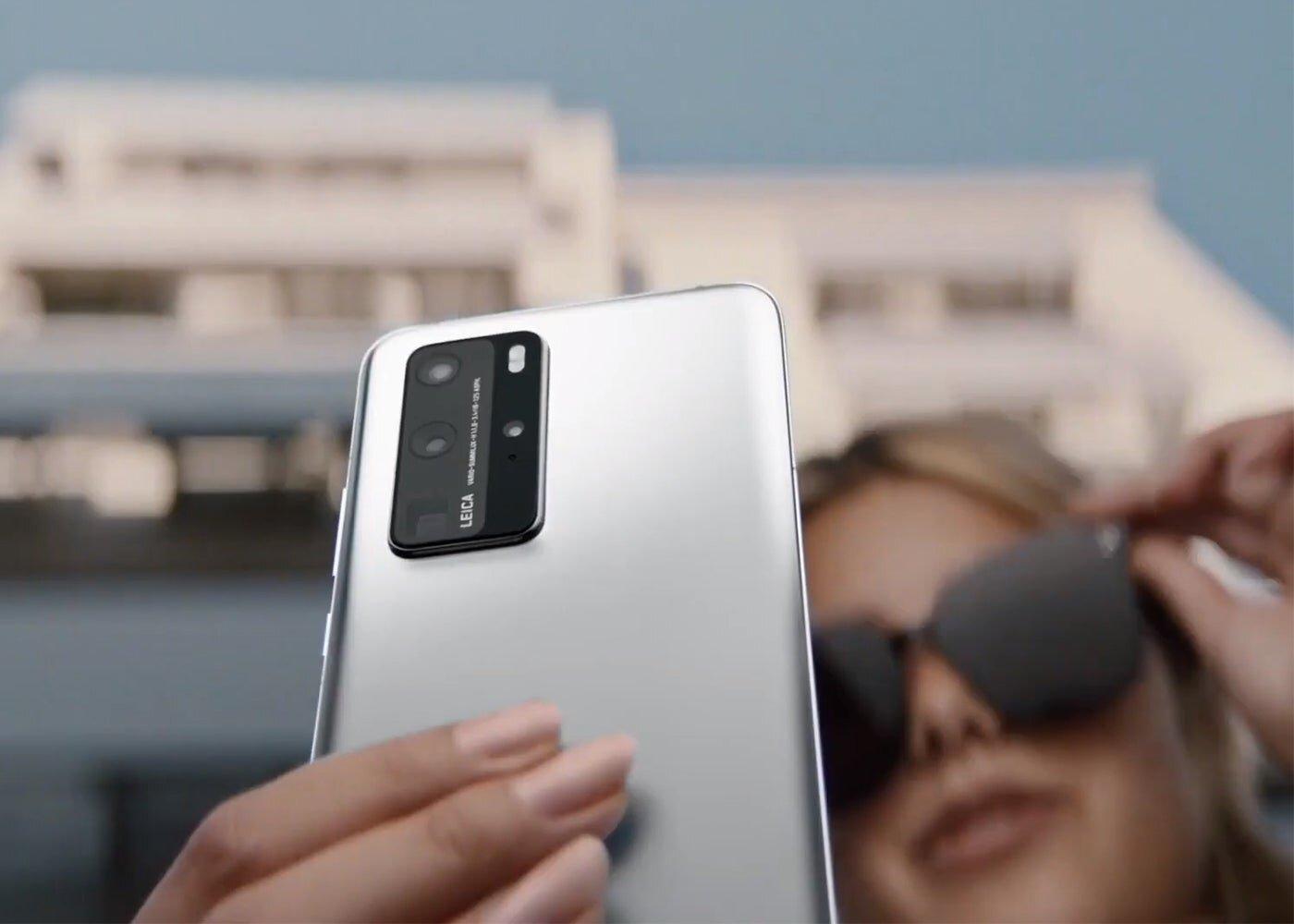 Huawei P40 Pro, caméras