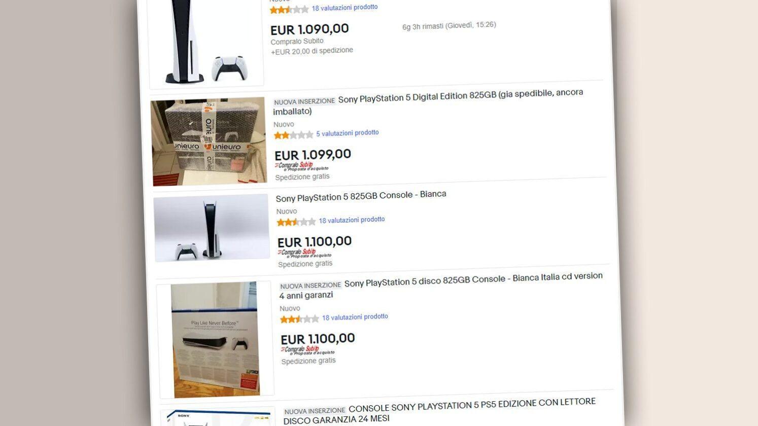 À Quels Prix Revendent Ils La Playstation 5 Sur Ebay