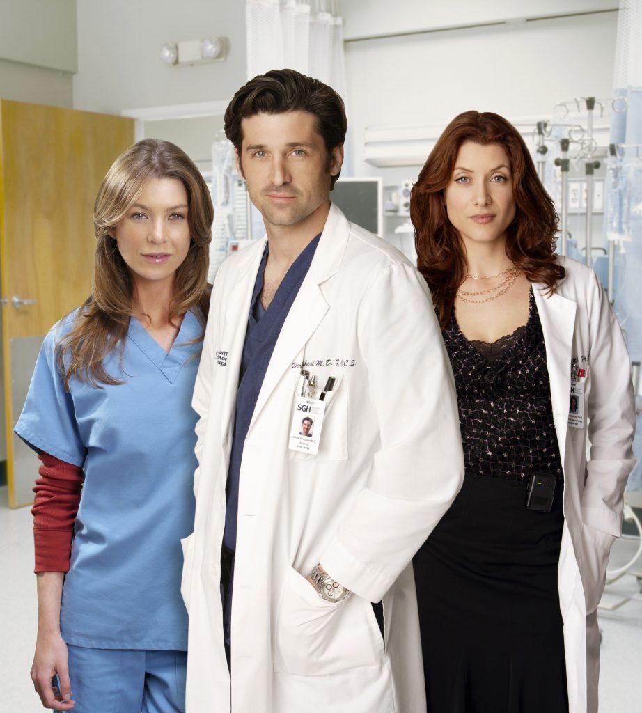 'Grey's Anatomy' met en vedette Ellen Pompeo, Patrick Dempsey et Kate Walsh
