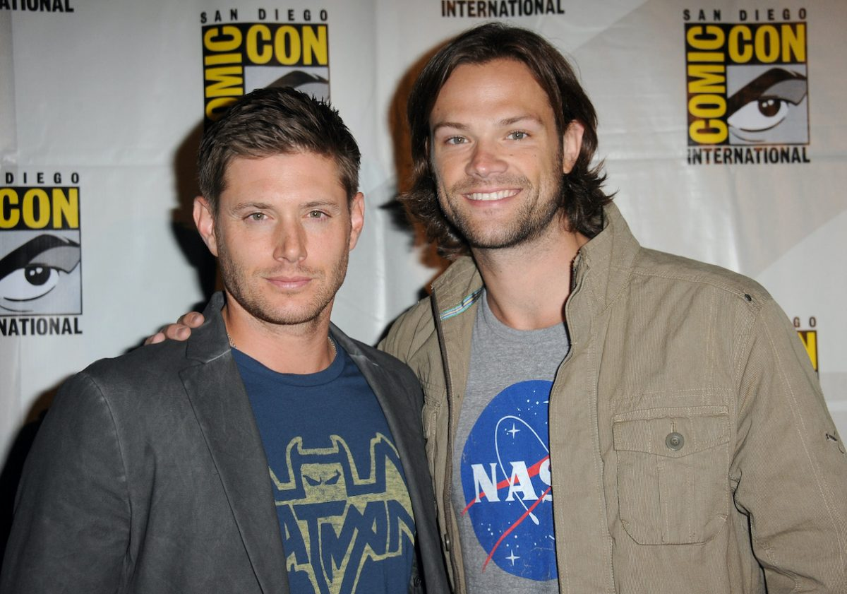 Jensen Ackles et Jared Padalecki au Comic-Con 2013
