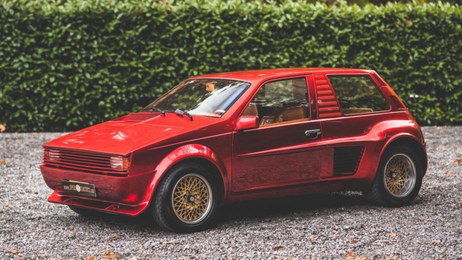 "Sbarro Super Eight. Si Ferrari Fabriquait Une ""hot Hatch"" Qui"