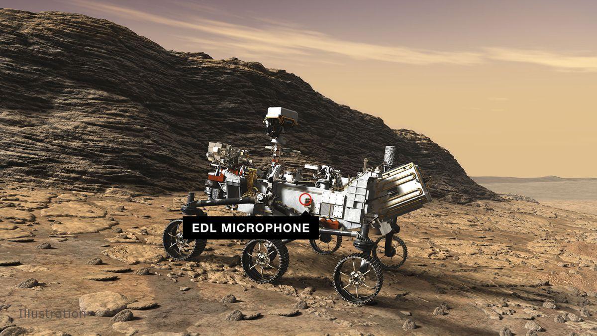 Écoutez Le Rover Mars Perseverance Vrombir Alors Qu'il Se Dirige