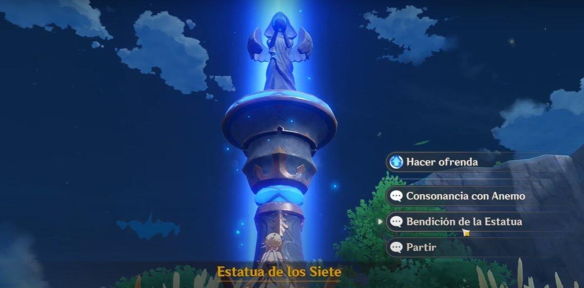 statue de sept