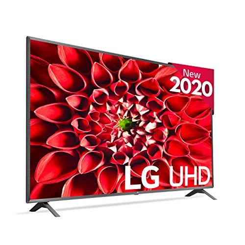 """LG 86UN85006LA - Smart TV 4K UHD 217 cm (86 """") avec intelligence artificielle, processeur intelligent α7 Gen3, apprentissage en profondeur, 100% HDR, Dolby Vision / ATMOS"""