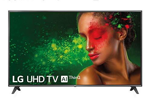 """LG 75UM7110PLB - Téléviseur intelligent UHD 4K 189 cm (75 """") avec Alexa intégrée (processeur quadricœur, HDR et son ultra surround) Couleur Noir"""