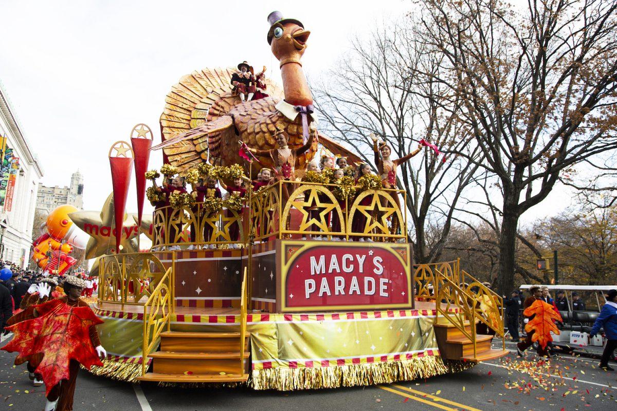 Flotteur de dinde Macy's Parade