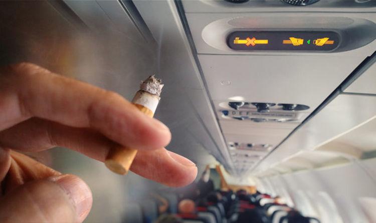 avion fumer