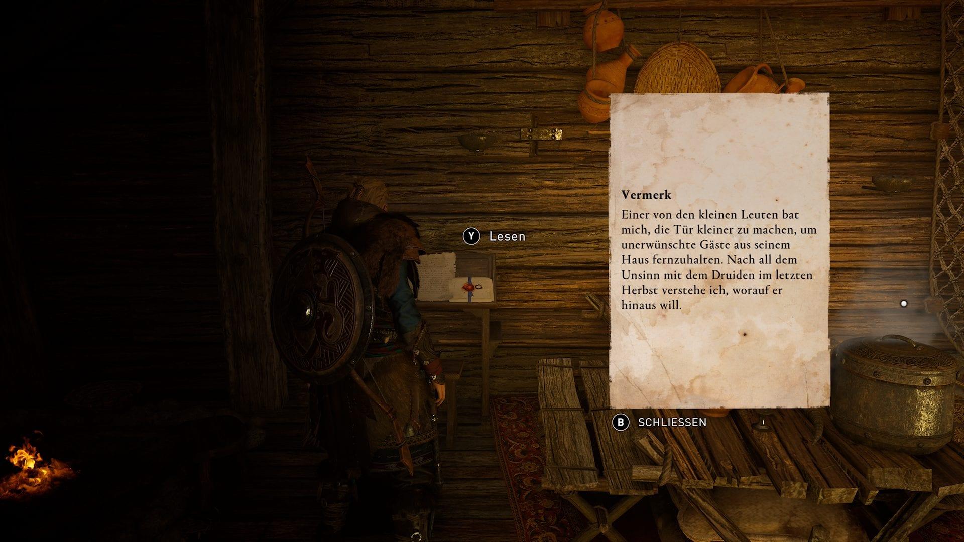 Assassin's Creed Valhalla - indice de Gandalf