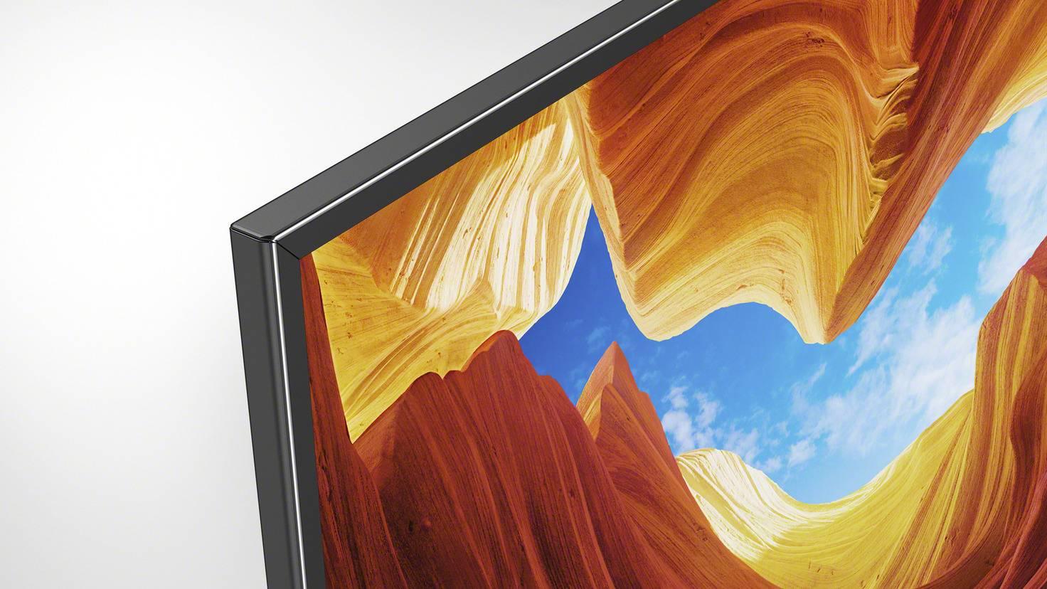 sony xh90 tv cadre de télévision