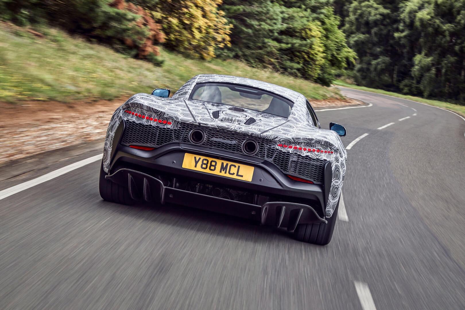 McLaren hybride super sportive