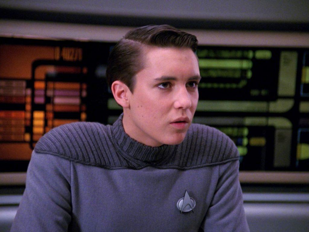 Wil Wheaton dans 'Star Trek'