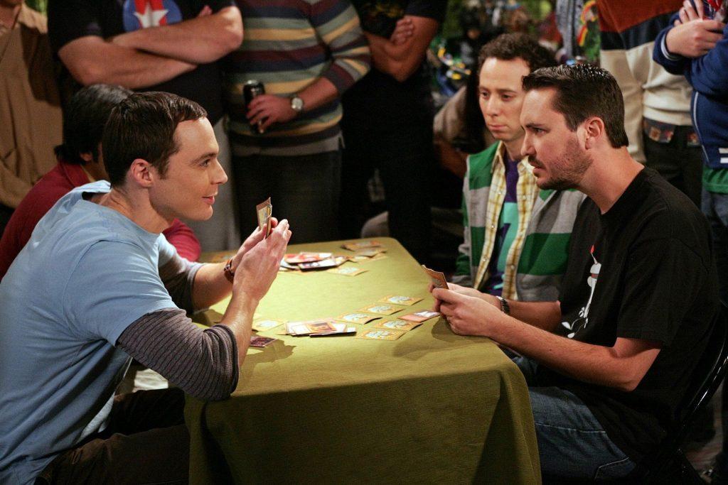 Wil Wheaton, Jim Parsons et Kevin Sussman dans `` The Big Bang Theory ''