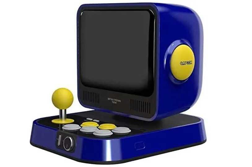 La nouvelle console rétro de Capcom comprend des jeux 'Street Fighter' et 'Mega Man' et a une belle sensation vintage