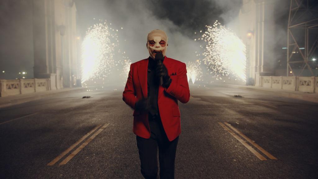 The Weeknd en concert aux AMA 2020