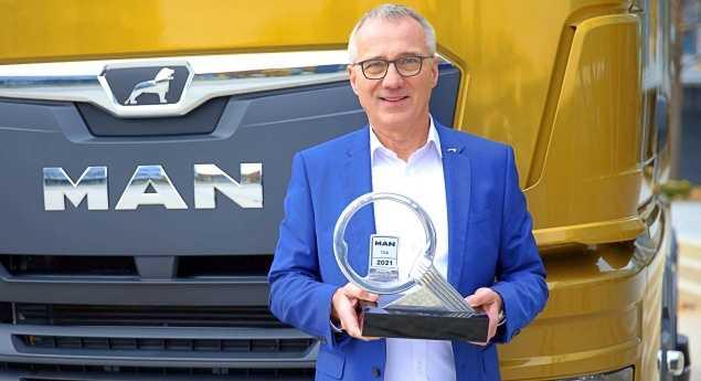 Man Tgx élu «camion International De L'année 2021»