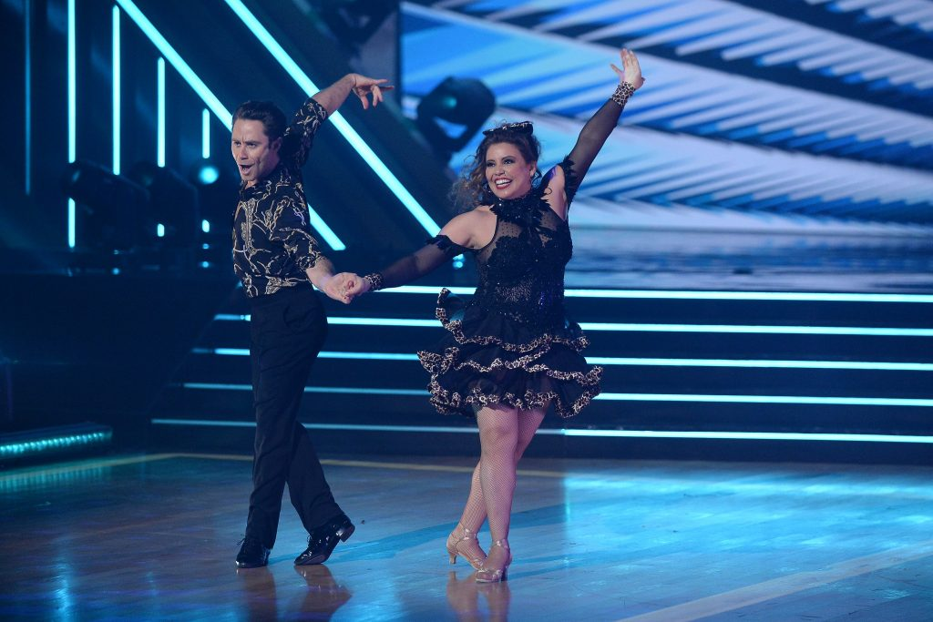 Danse avec les stars Sasha Farber et Justina Machado