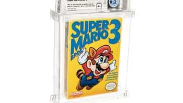 Une copie de «Super Mario Bros.3» bat un record absolu de prix aux enchères: 165 000 $ pour une cartouche «défectueuse»