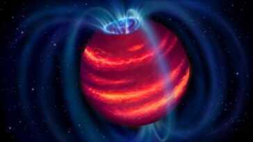 Une Faible `` Super Planète '' Découverte Par Un Radiotélescope Pour