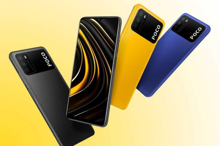 Xiaomi POCO M3: super batterie au prix de la démolition et de la 4G par drapeau