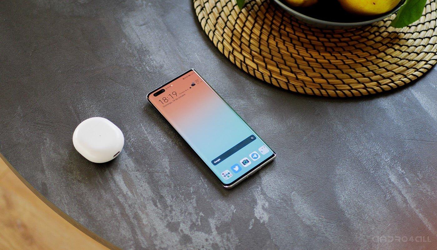Écran Huawei Mate40 Pro allumé
