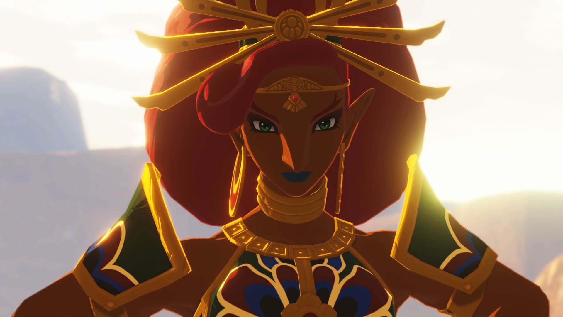 Gerudo reine Urbosa au temps de la destruction